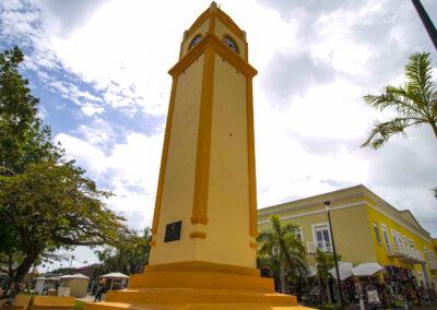 El antiguo reloj de Cozumel
